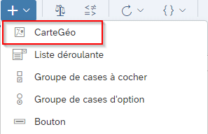 CartesGeo dans SAP Analytics Cloud