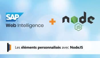 Les éléments personnalisés avec NodeJS