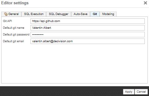 Configuration de GitHub