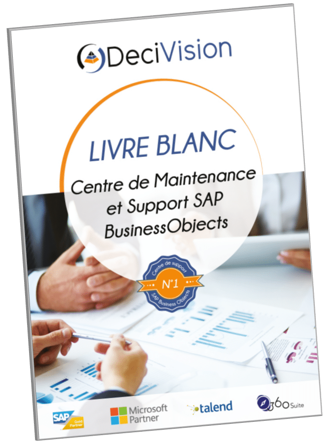Livre blanc Maintenance et Support SAP BusinessObjects