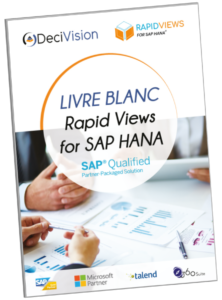 Livre blanc Rapid Views for SAP HANA