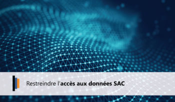 Restriction accès aux données SAP Analytics Cloud