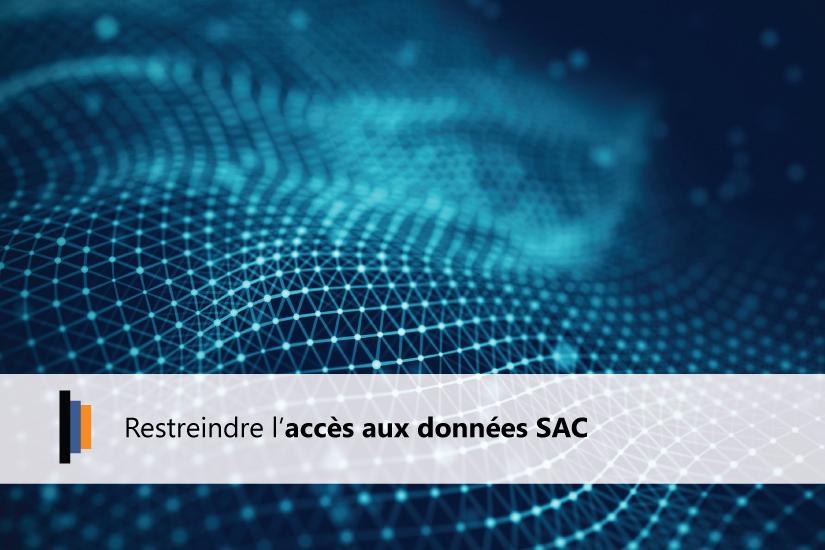 Restriction accès aux données SAP Analytics Cloud