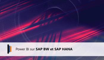 Power BI sur SAP BW et SAP HANA