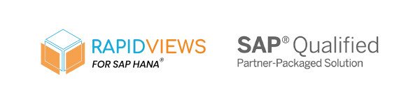 Rapid Views for SAP HANA Qualified Partner