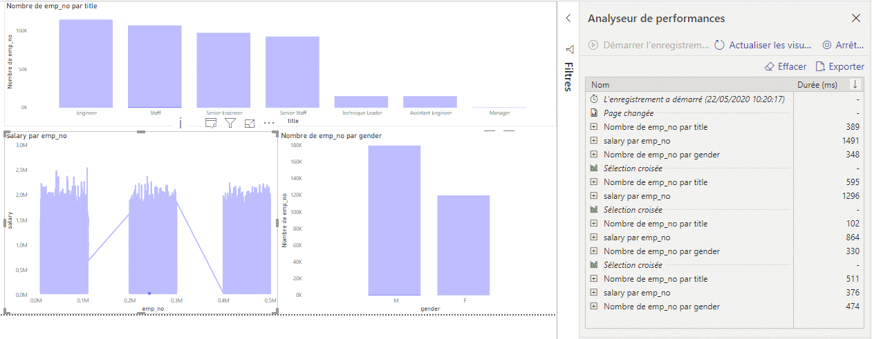 Optimisation rapport Power BI Desktop