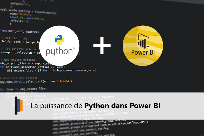 Python et Power BI