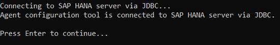 Connecting to SAP HANA DPA