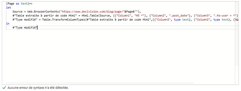 Création d'une variable de type texte