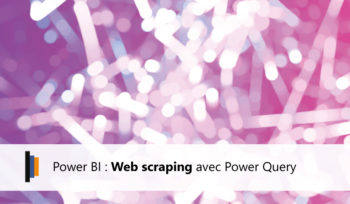 Web scraping avec Power Query