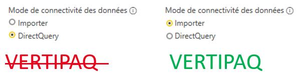 Base de données Vertipaq