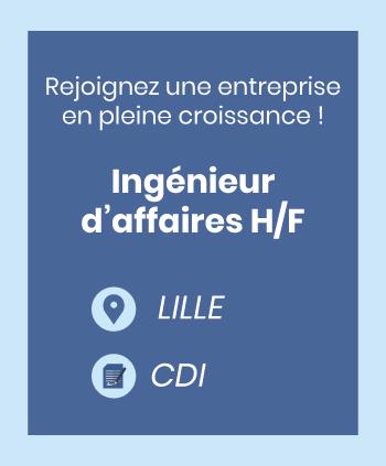 Recrutement Ingénieur d'affaires Lille