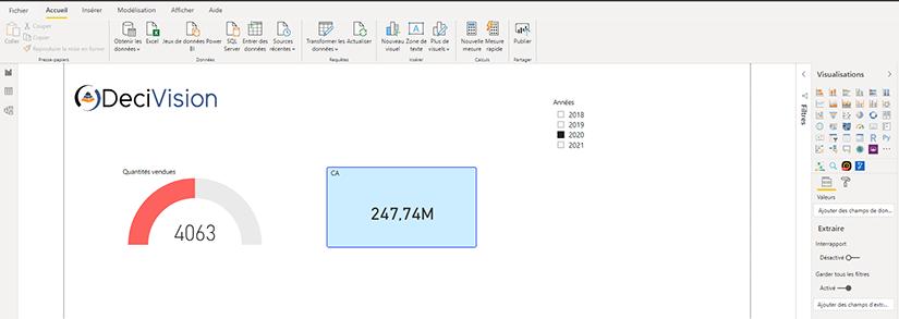 Rapport Power BI Desktop
