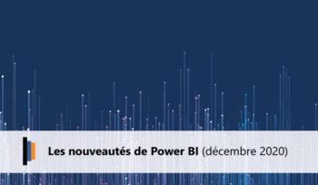 Nouveautés Microsoft Power BI Décembre 2020