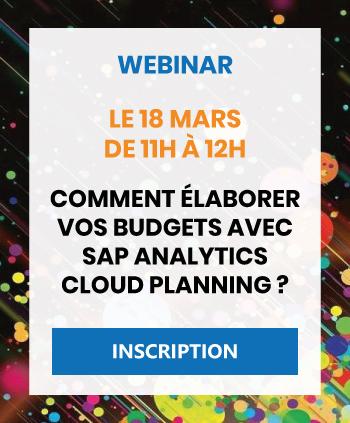 Webinar SAP Analytics Cloud Planning
