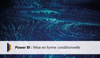 Power BI - Mise en forme conditionnelle