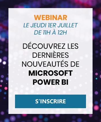 Webinar Power BI 1er Juillet