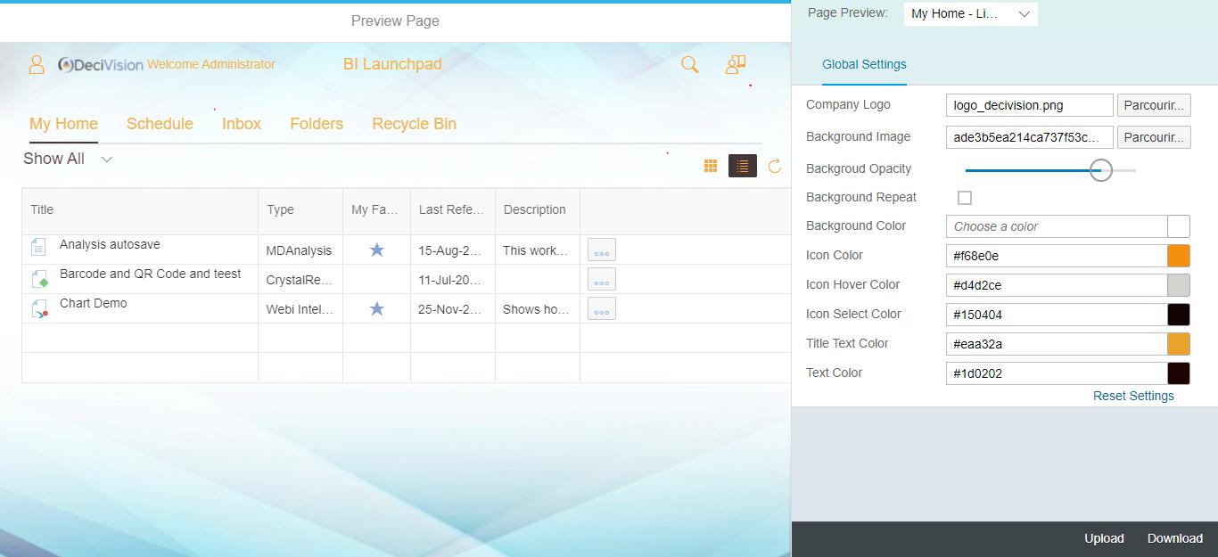 Choix de la couleur du texte dans SAP Theme Designer