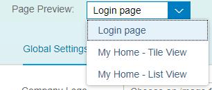 Page de login sur SAP Theme Designer