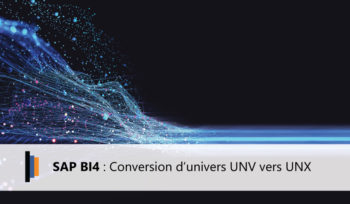 SAP BI4 Conversion UNV UNX